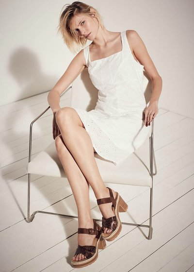 Kelly broderie anglaise dress