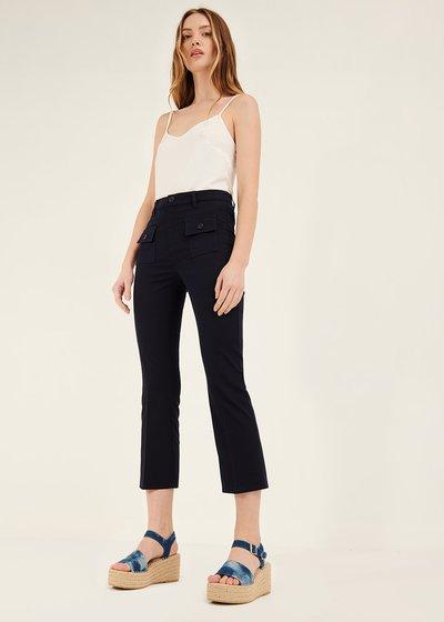 Pantalone Cindy con tasche sul davanti