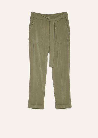 Pantalone Lara con tasche a toppa