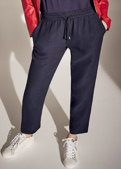 Cara micro honeycomb trousers