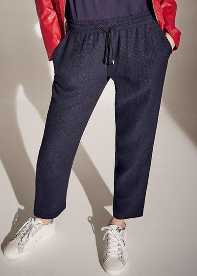 Cara micro honeycomb trousers