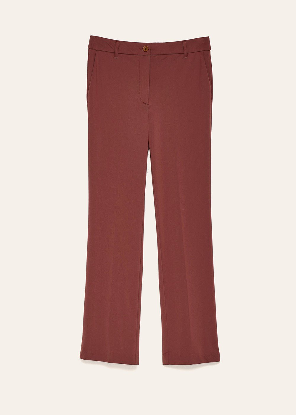 Jacquelic trousers in technical fabric - Land - Woman
