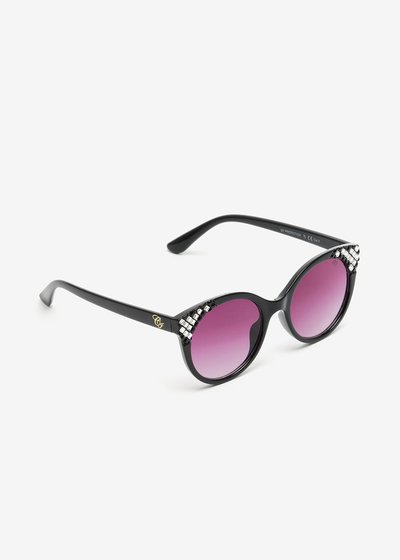 Animalier Sunglasses with decorated with crystals