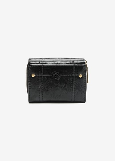 Pervin veined eco leather Wallet