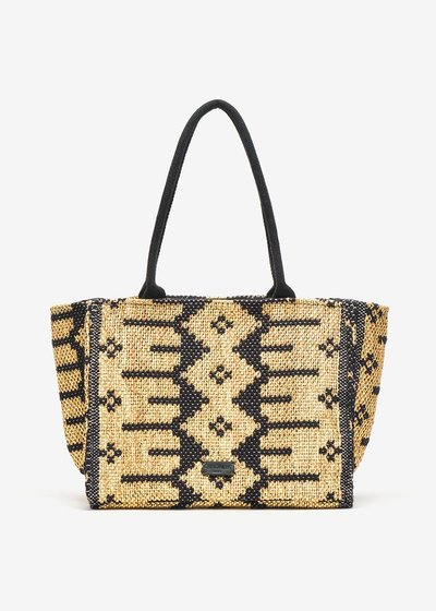 Boemia Jacquard Cotton Shopping Bag