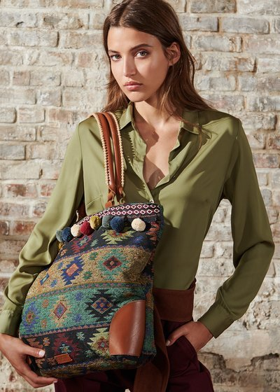 Boheme Jacquard Shopping Bag