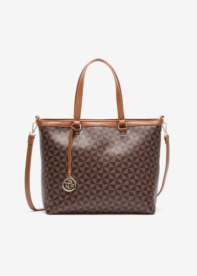 Baggy Geometric Fancy Shopping bag