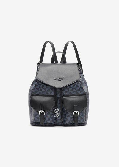 Baddy Backpack with Geometric Fancy