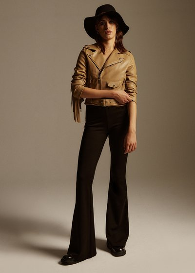 Victoria fleece flare pants