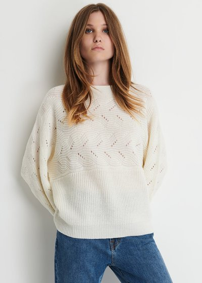 Maija Sweater with Round Neckline