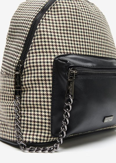 Beddy Pied de poule backpack