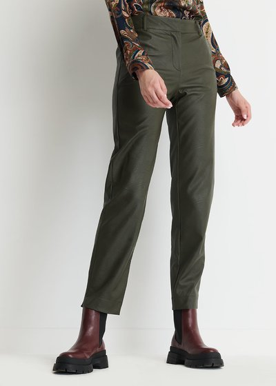Alice Eco-leather Trousers