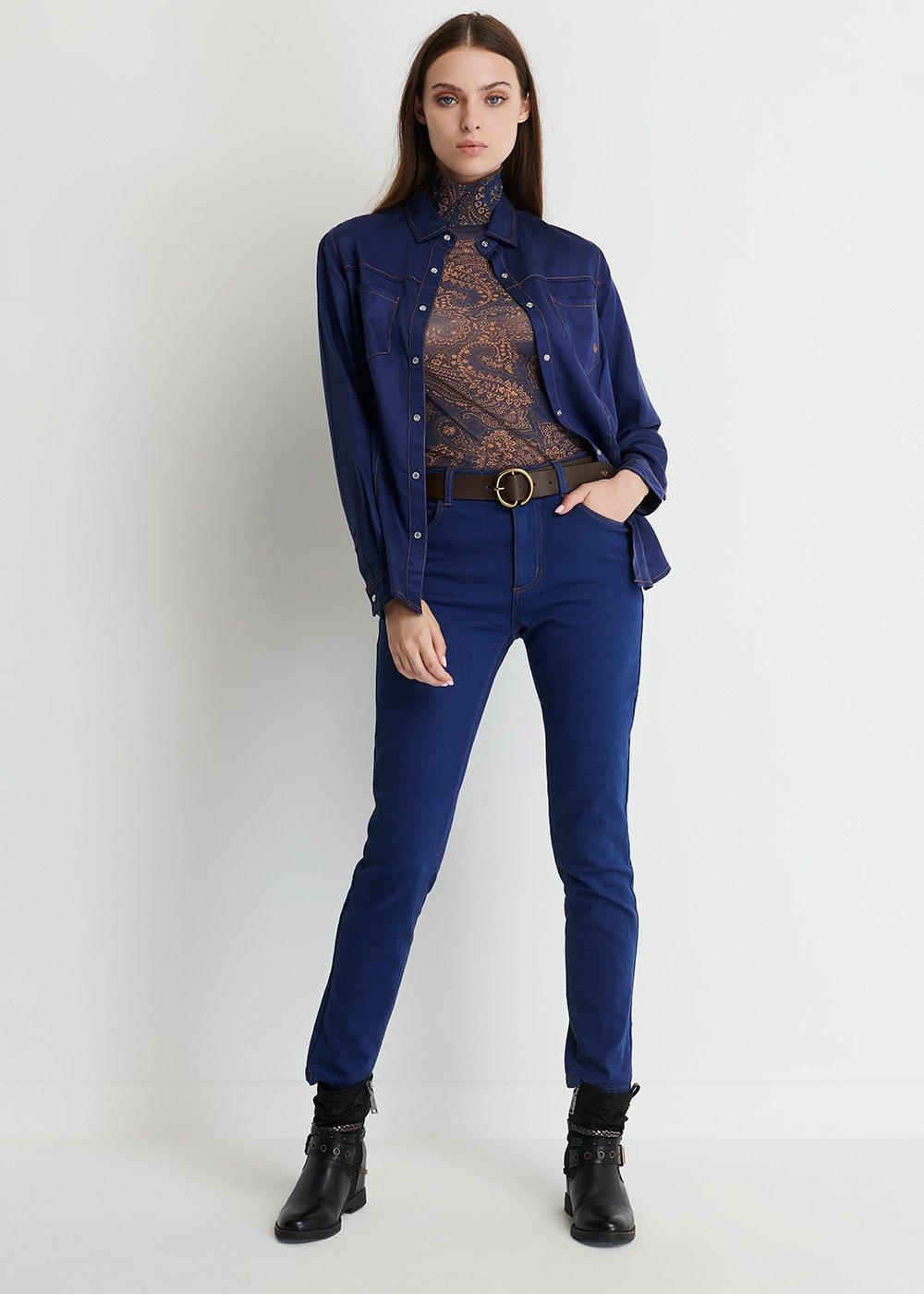 Kate Skinny Denim - Blue - Woman