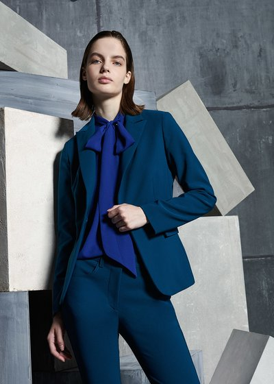 Classic Cindy Jacket in Blue
