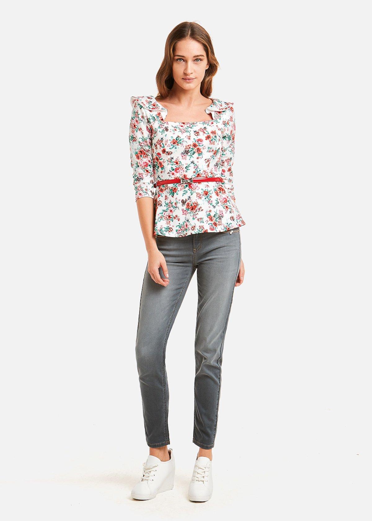 Dagor 5 Pocket slim jeans - Grey