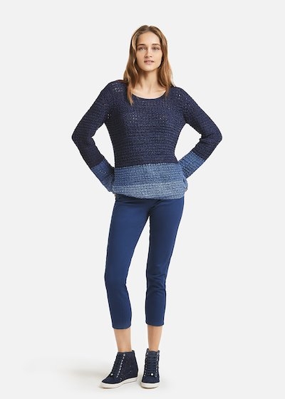 Maddie sweater shade details - Medium Blue
