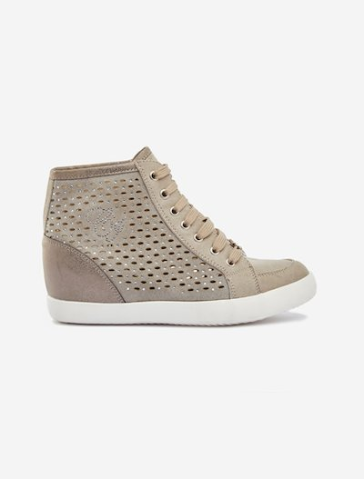Faux-suede Sasha sneakers