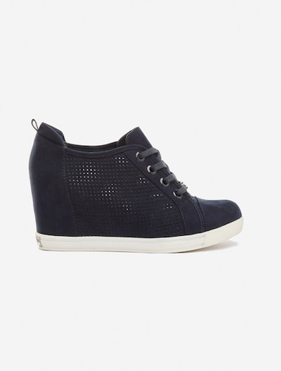Sliana internal wedge sneakers - Dark Blue