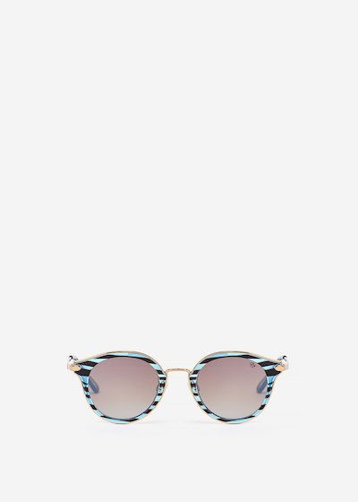 Dappled sunglasses - Dark Blue Fantasia