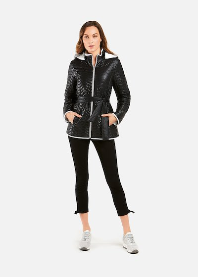 Bicolour quilted Persy padded jacket