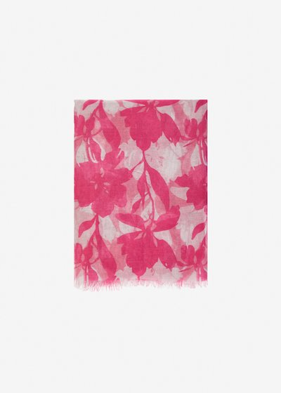 Sima flower pattern scarf