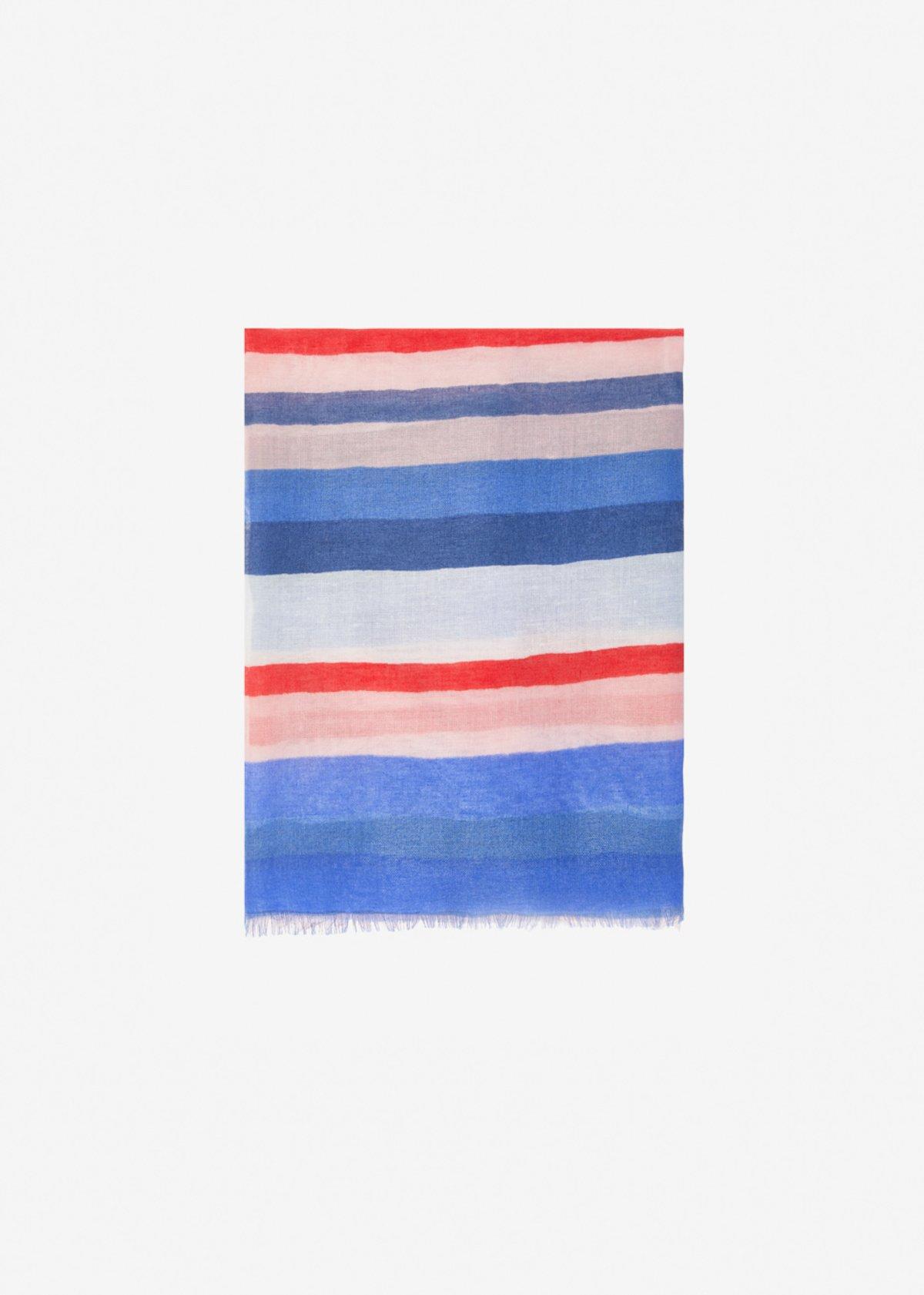 Sciarpa Sanda multicolor - Avion Stripes - Donna