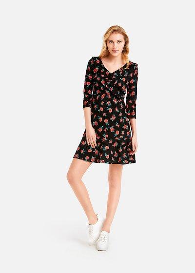 Alyson dress 101 roses pattern
