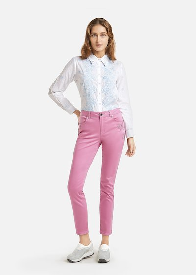 Pantaloni Pandy patch farfalle