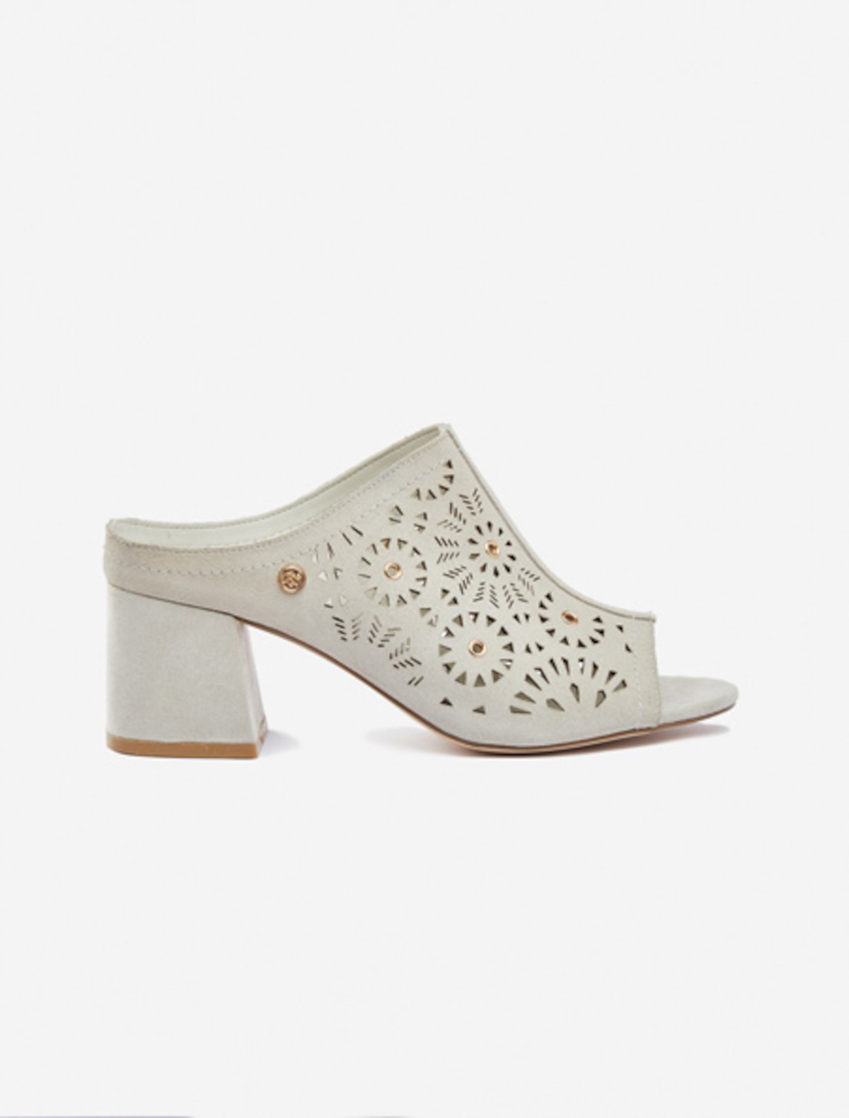 Sista Sabot real perforated suede