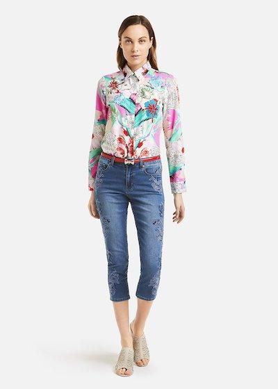 Cuba blouse floral print