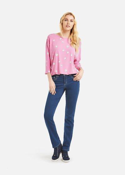 Sabrina T-shirt polka dots pattern
