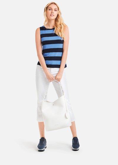 Tailor Top stripe pattern