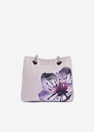 Bag Mini lady flower in eco leather Cherry Tree