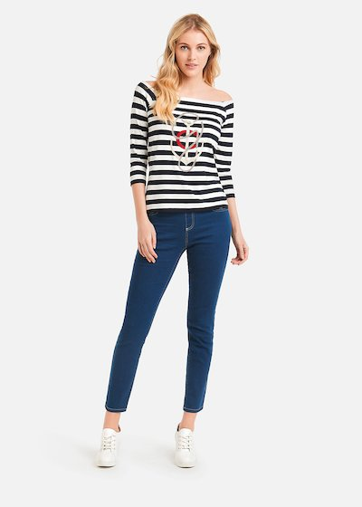 Dolmen Skinny jeggings 5 pockets - Blue