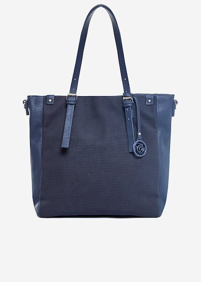 Shopping bag Brasia with perforated pocket