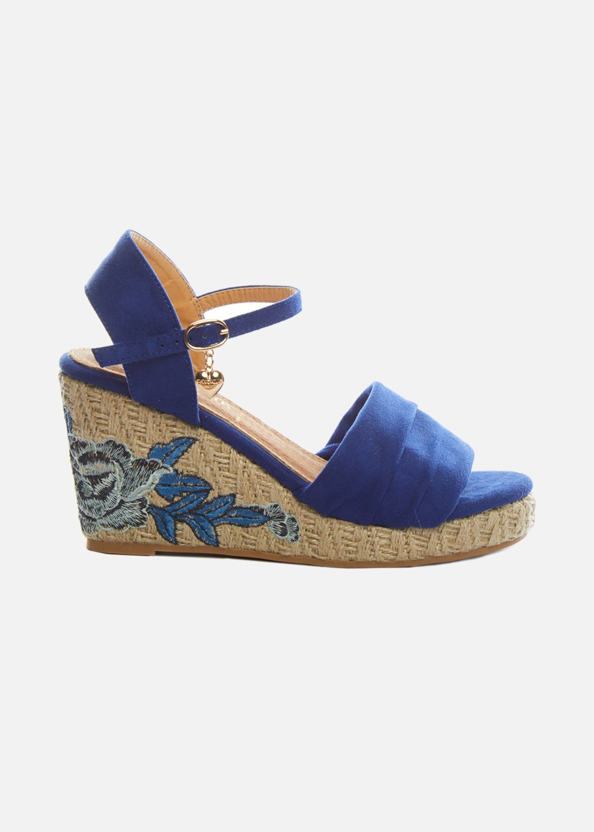 Sembry wedge and floral embroidery sandals - Formentera