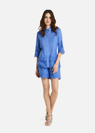 Clary blouse with lurex details