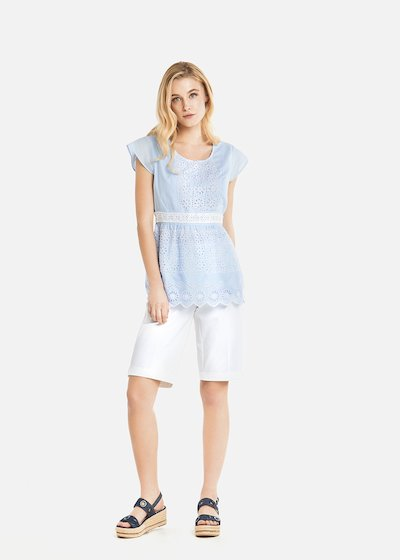 Timoty embroidered top