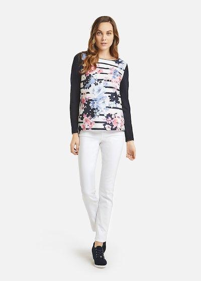 Selen t-shirt with round neckline