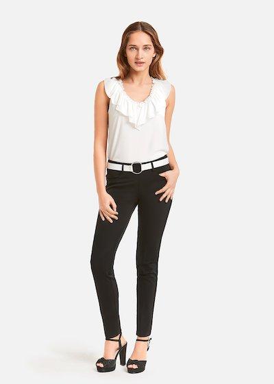 Pedro Skinny leg equestrian trousers - Black