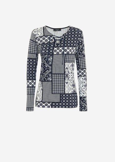 Samir cashmere print t-shirt