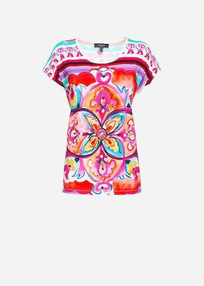 T-shirt Semmy con strass