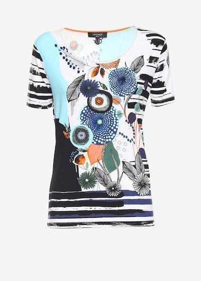 T-shirt Sirya con stampa