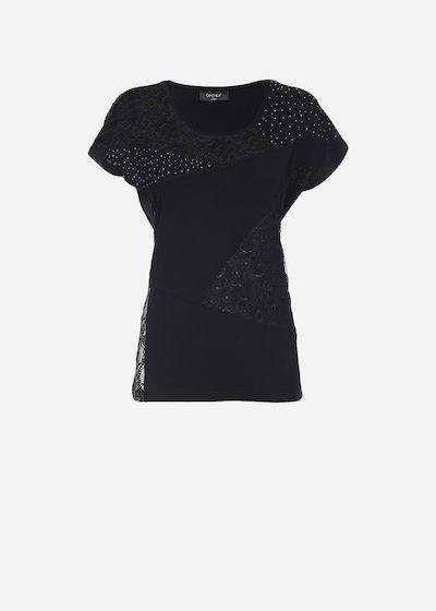 Soleil patch t-shirt