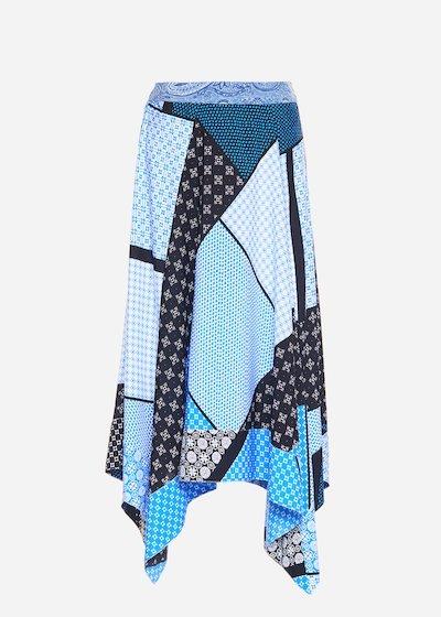 Gianet asymmetric skirt