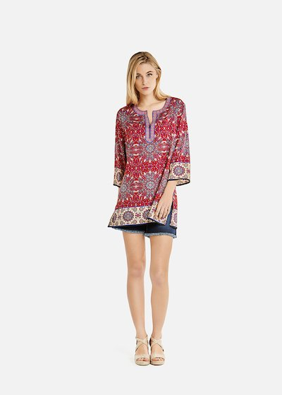 Cameron blouse with details of beads and sequins