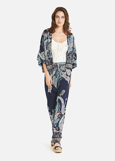 Coprispalla Cades fantasia paisley all-over print