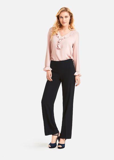 Total black Perfetto trousers