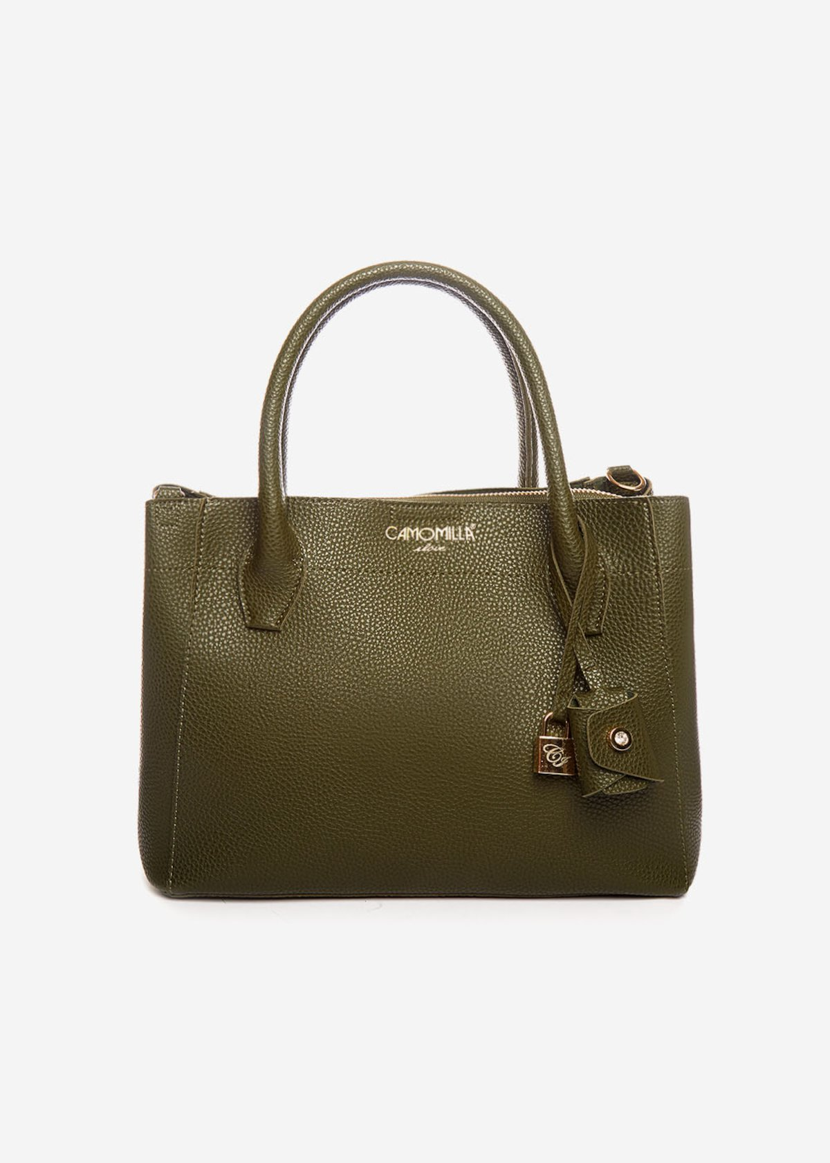 Borsa Brunas con occhielli light gold - Alga