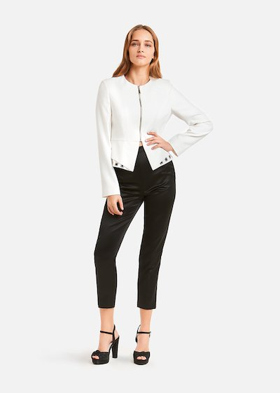 Slim Perin trousers with bustier